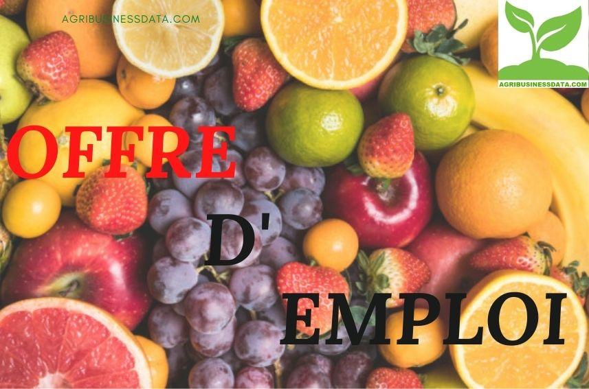 EDEN FRUIT: Recrutement des commerciaux