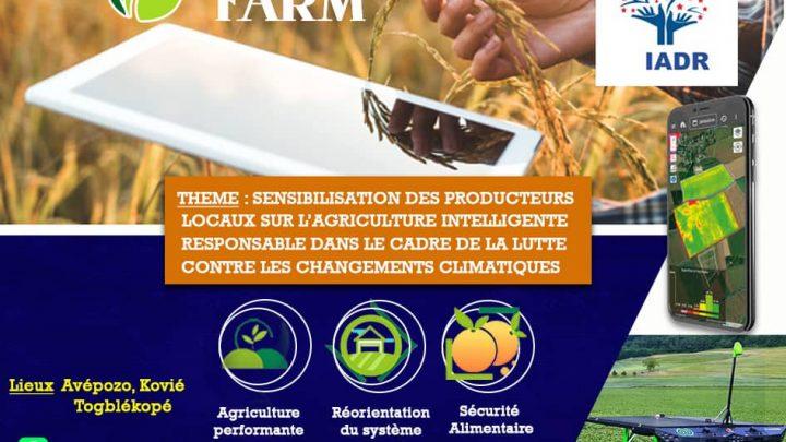 SENSIBILISATION: L'AGRICULTURE INTELLIGENTE ET RESPONSABLE DANS LA LUTTE CONTRE LES CHANGEMENTS CLIMATIQUES