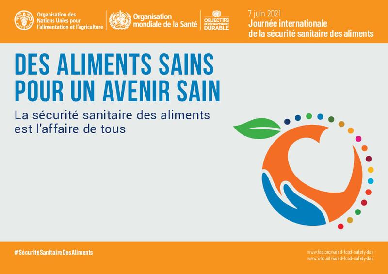 FAO : LA SÉCURITÉ SANITAIRE DES ALIMENTS