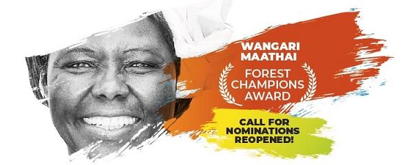 Prix Wangari Maathai Forest Champions – l'appel à candidatures est ouvert !